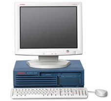 HP AlphaStation DS10 System photo